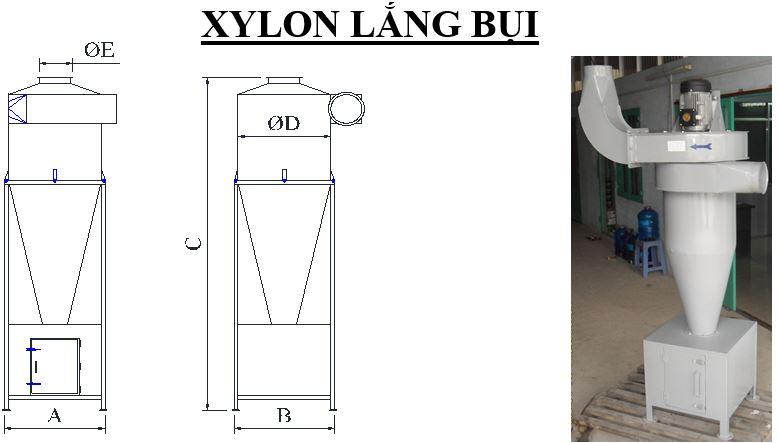 XYLON LẮNG BỤI - XLB